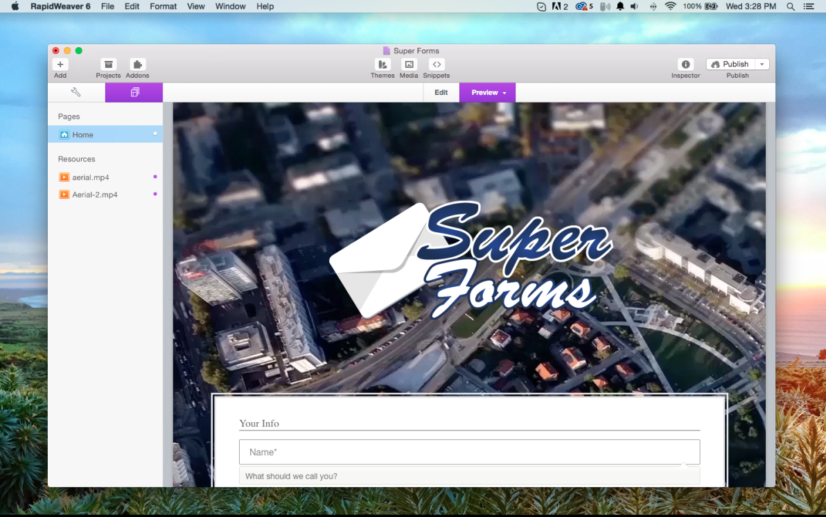 Super Forms screenshot