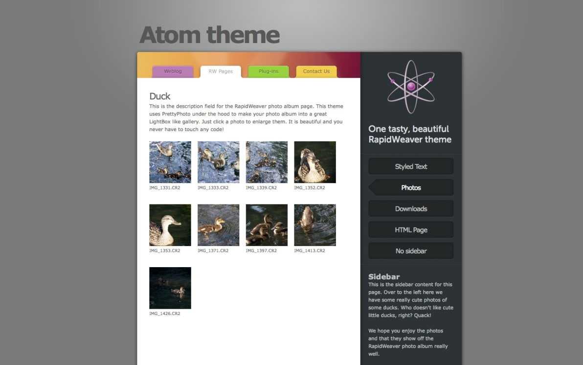 Atom screenshot