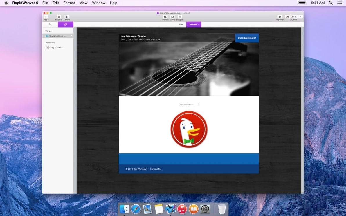 DuckDuckSearch screenshot
