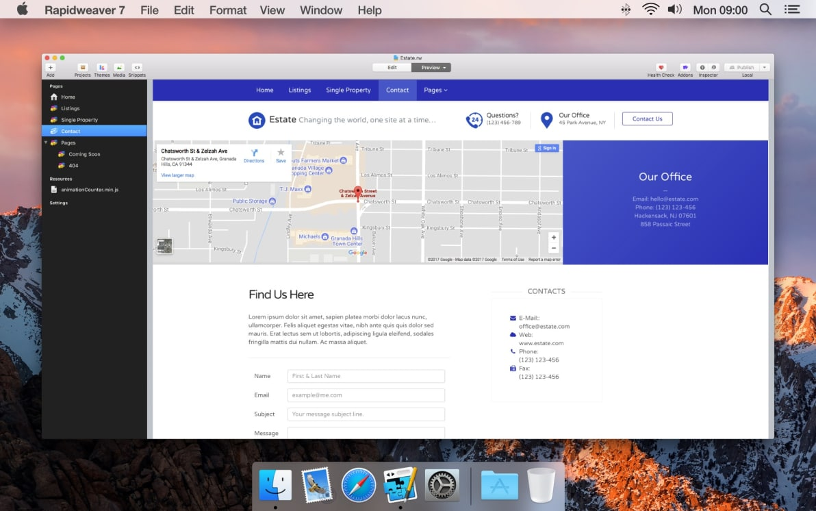 Estate screenshot