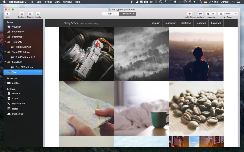 Gallery Stack screenshot
