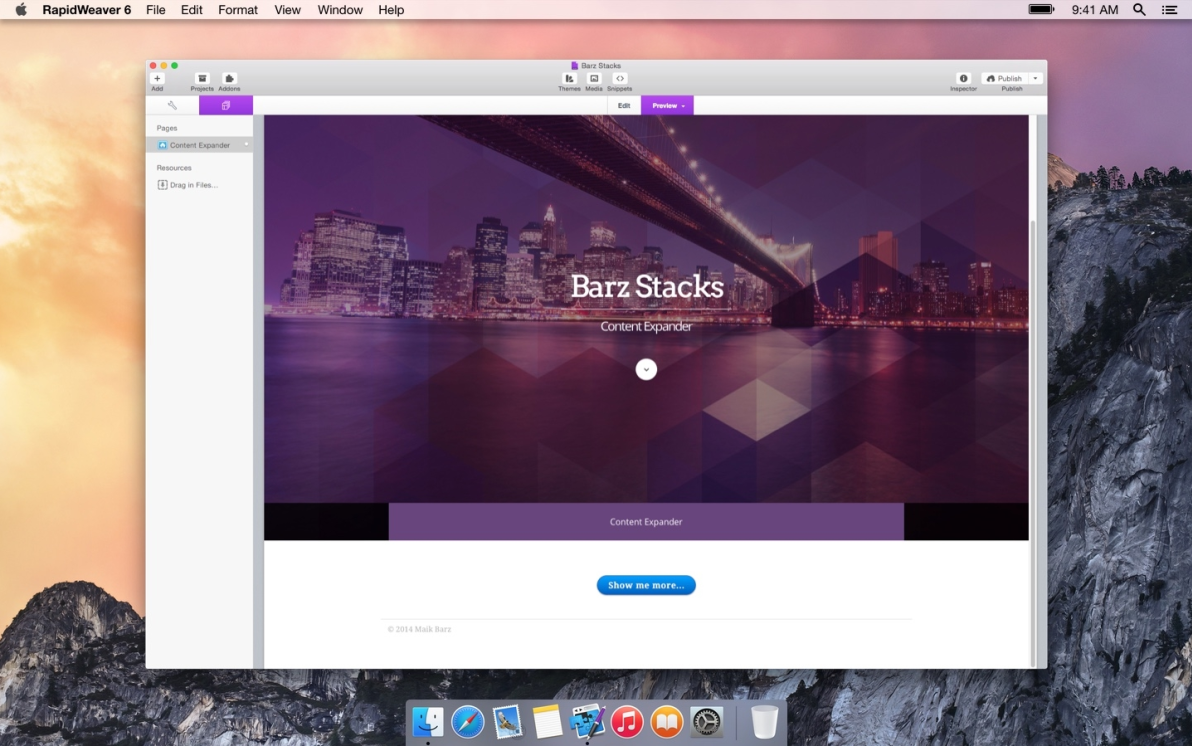 Content Expander screenshot