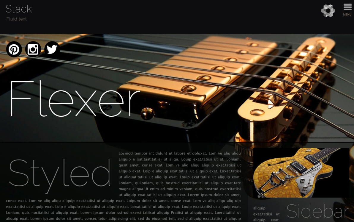 Flexer screenshot