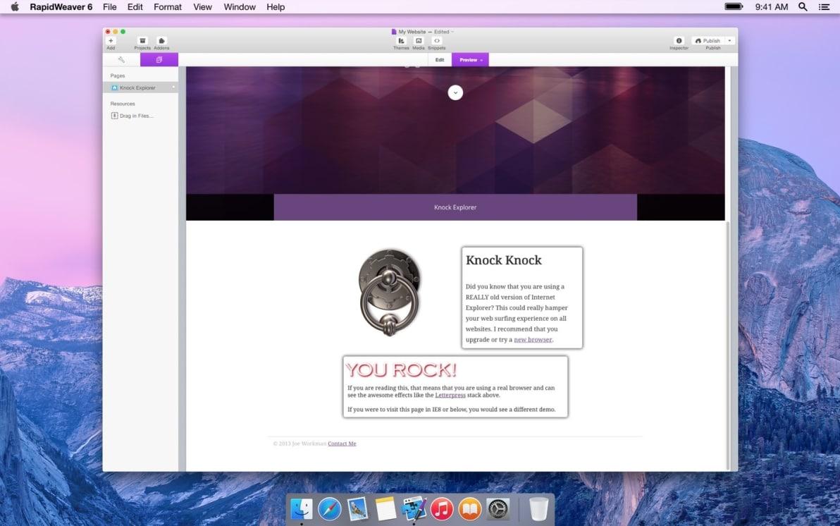 Knock Explorer screenshot