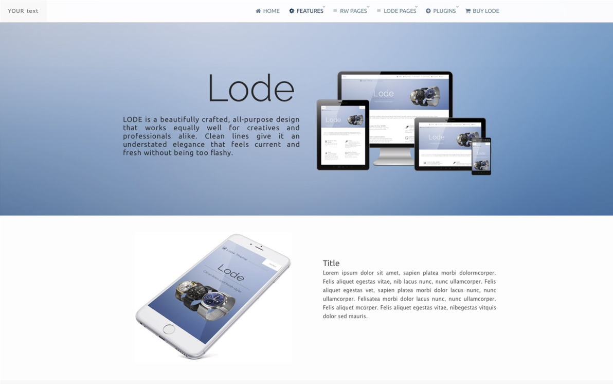 Lode screenshot