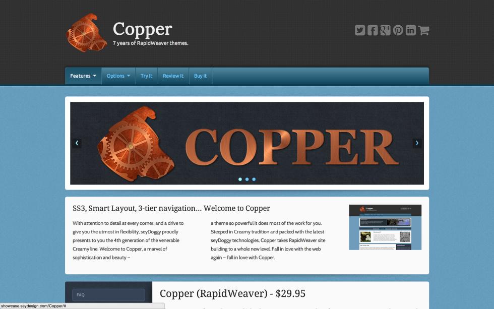 seyDesign Copper screenshot