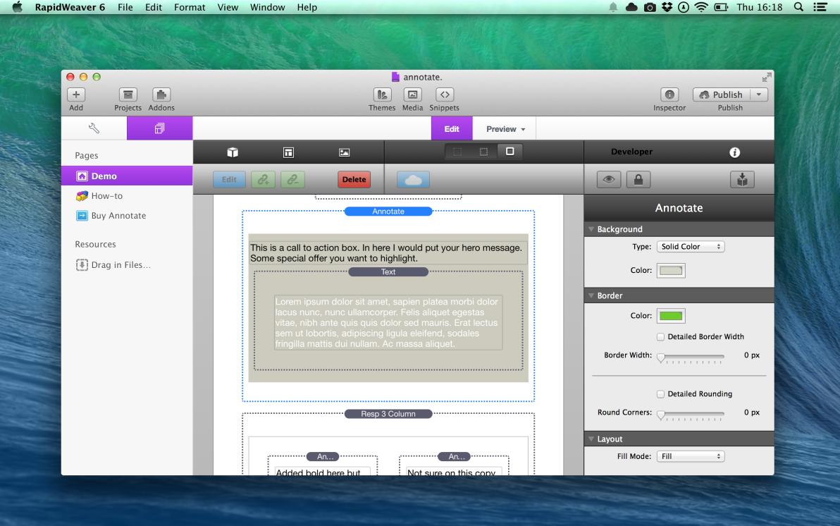 Annotate screenshot