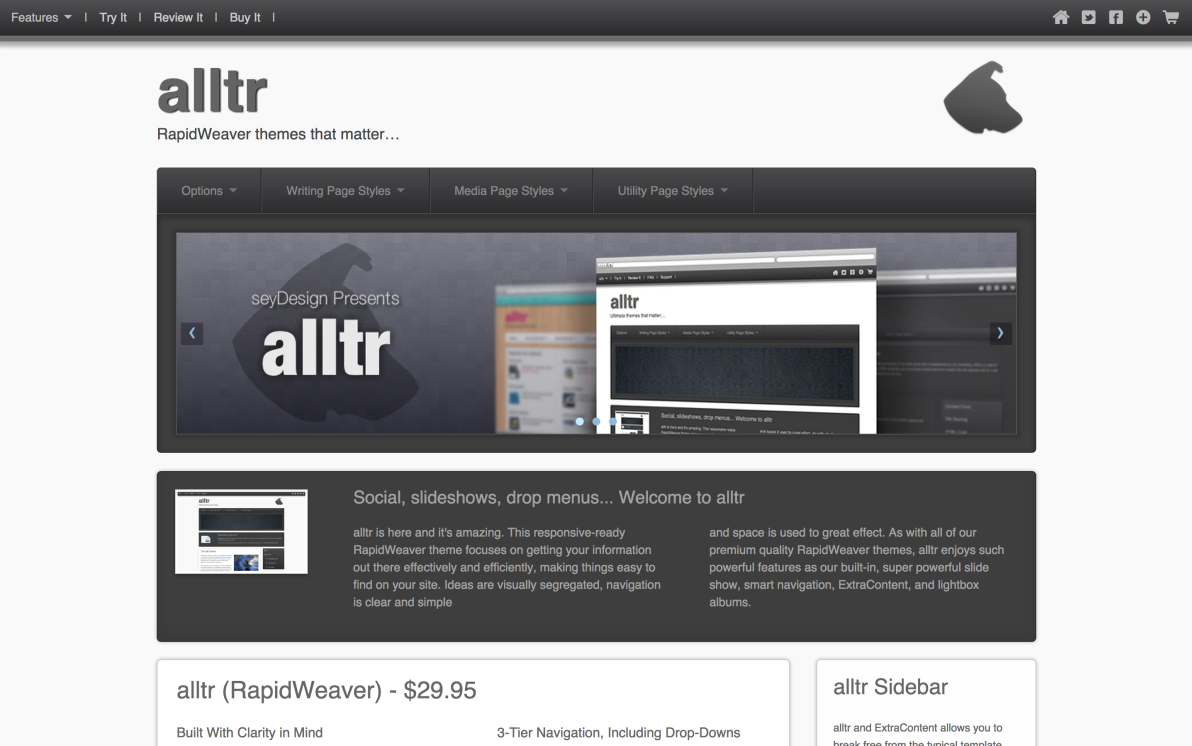 seyDesign alltr screenshot