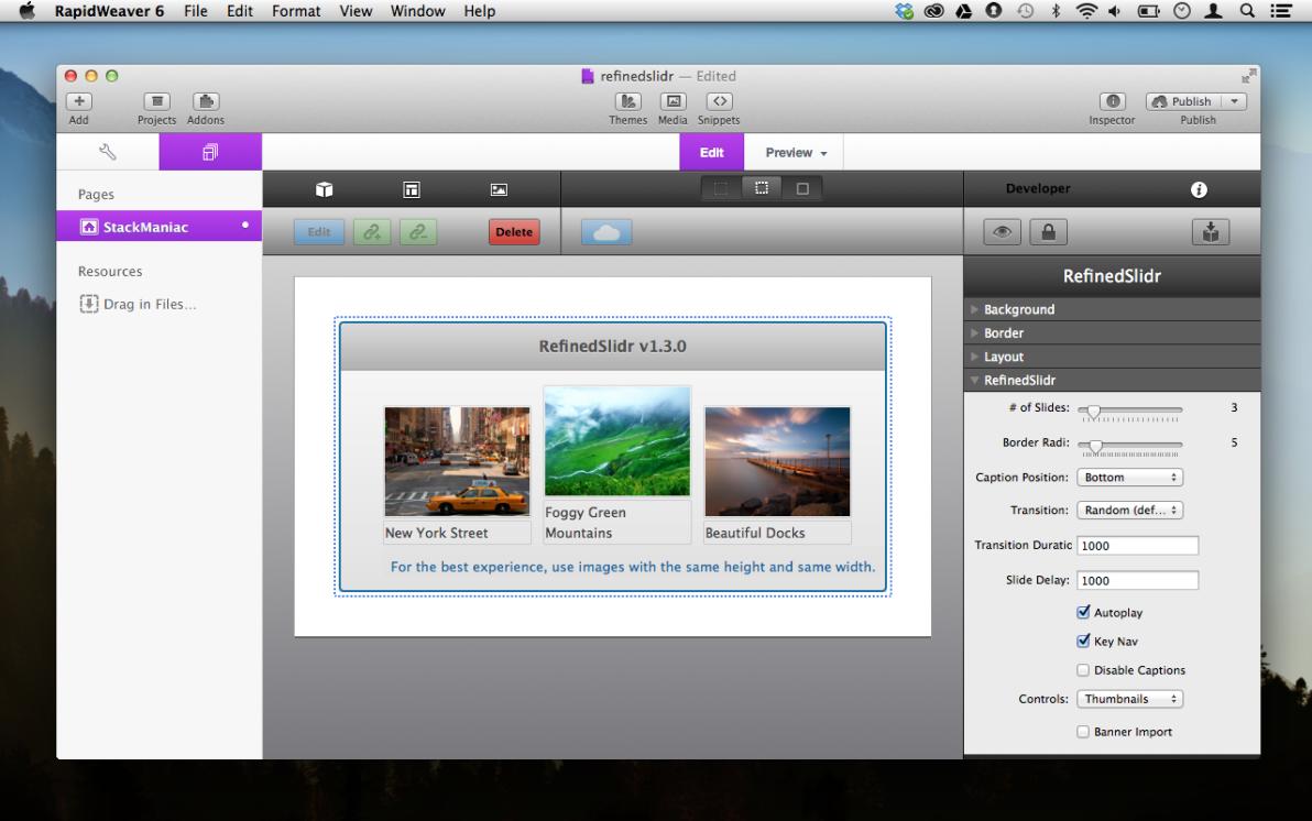 RefinedSlider screenshot