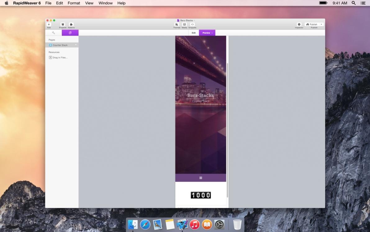 Counter Stack screenshot