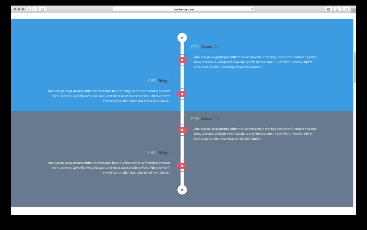 WDS Template 2 screenshot