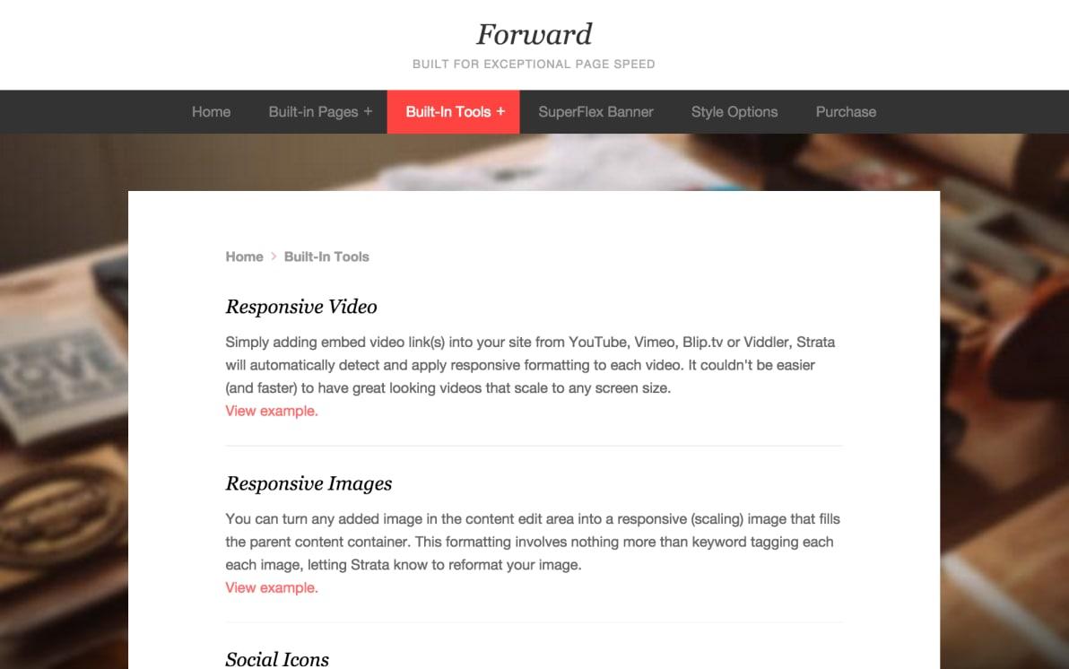 Forward screenshot