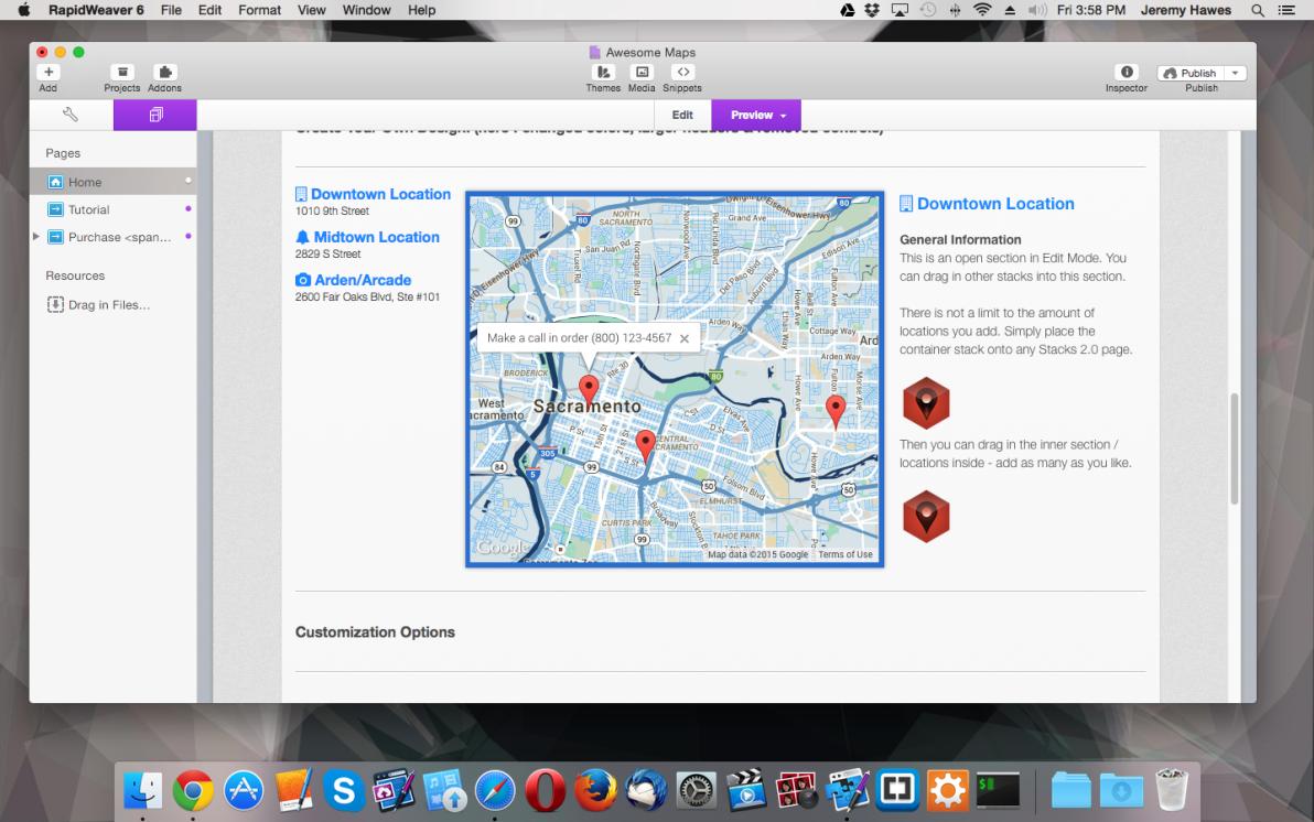 Awesome Maps screenshot