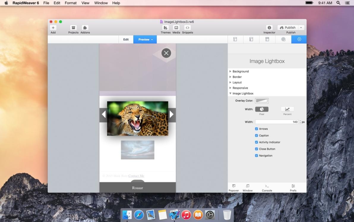 Image Lightbox 3 screenshot