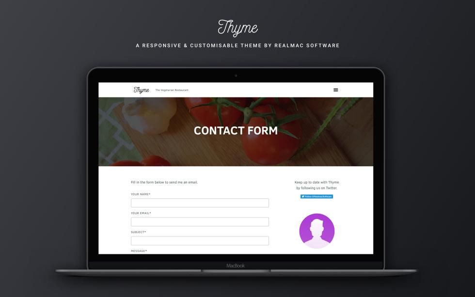 Thyme screenshot