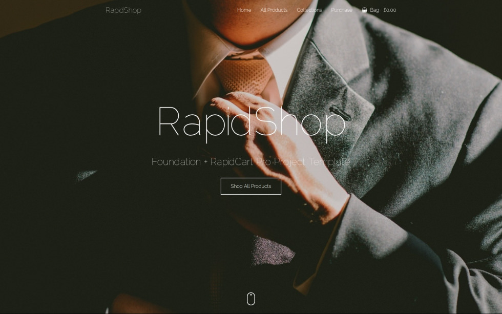 RapidShop screenshot