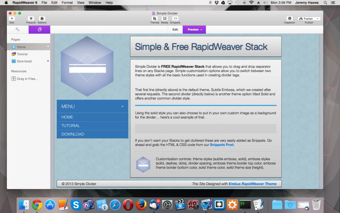 Simple Divider screenshot
