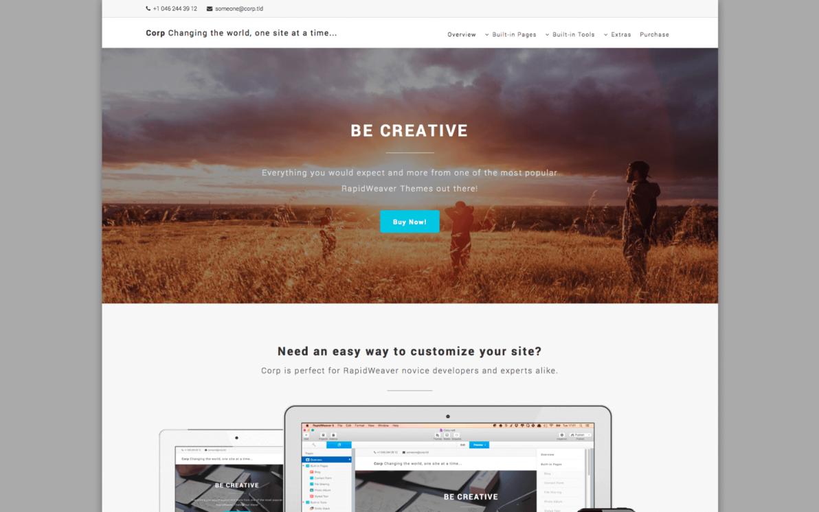 Corp screenshot