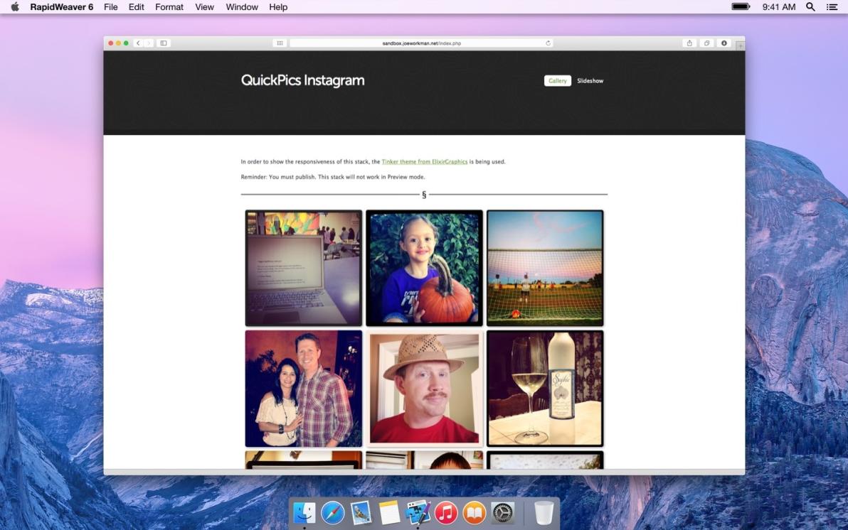 QuickPics Instagram screenshot