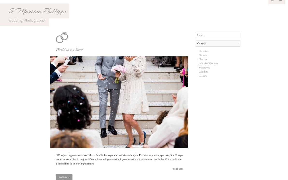 Photostories Wedding screenshot