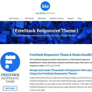 FreeStack Responsive icon