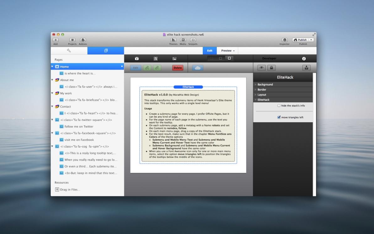 EliteHack Stack screenshot
