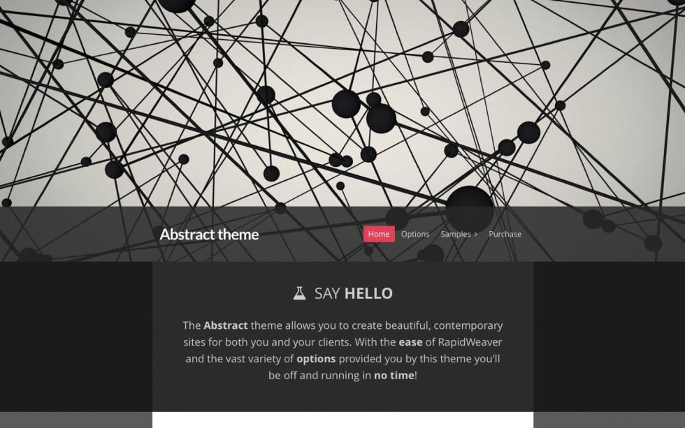 Abstract screenshot