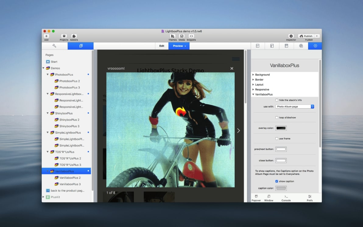 VanillaboxPlus Stack screenshot