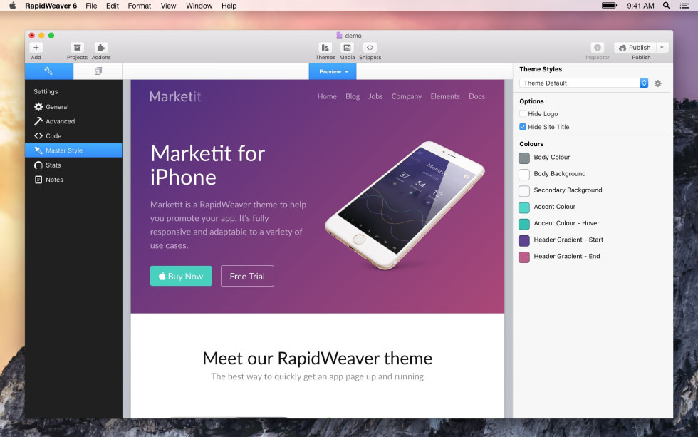 Marketit screenshot