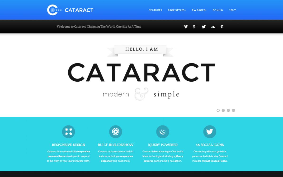 Cataract screenshot