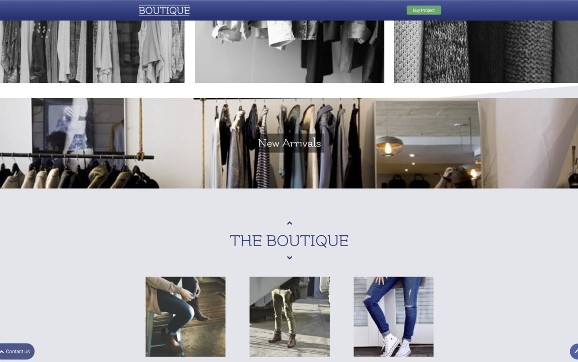 Boutique screenshot