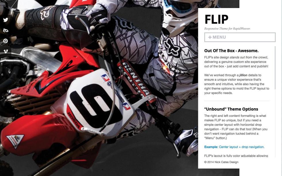 Flip screenshot