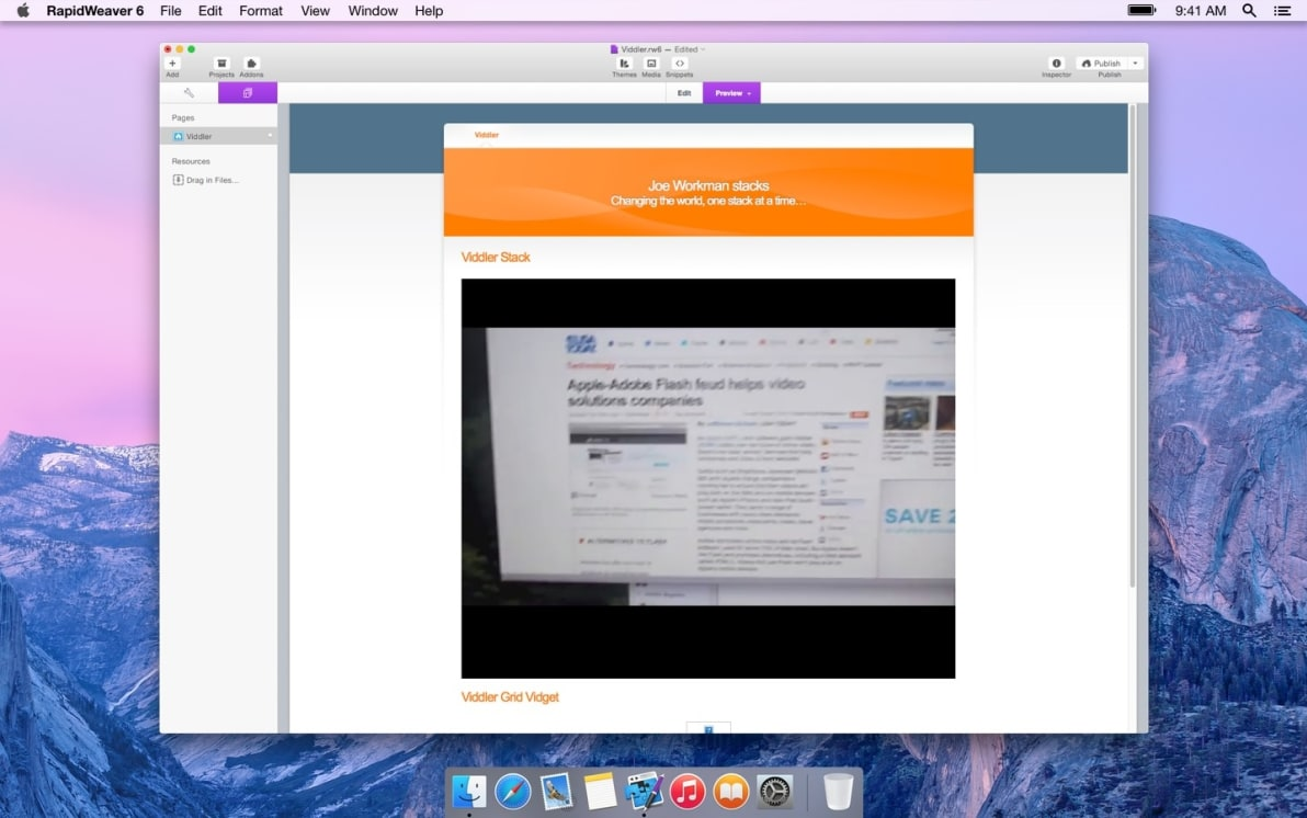 Viddler screenshot