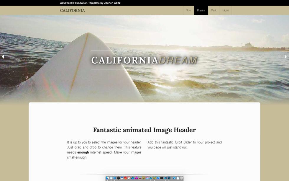 California screenshot