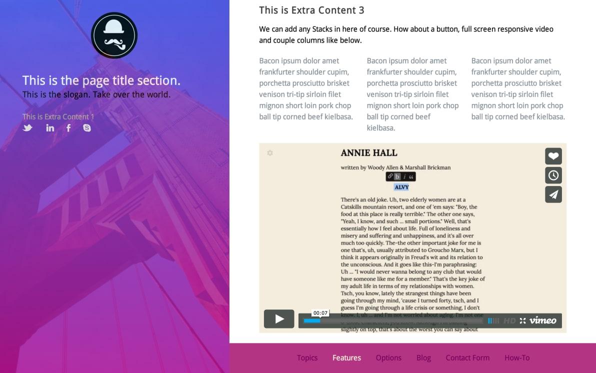 Topics screenshot