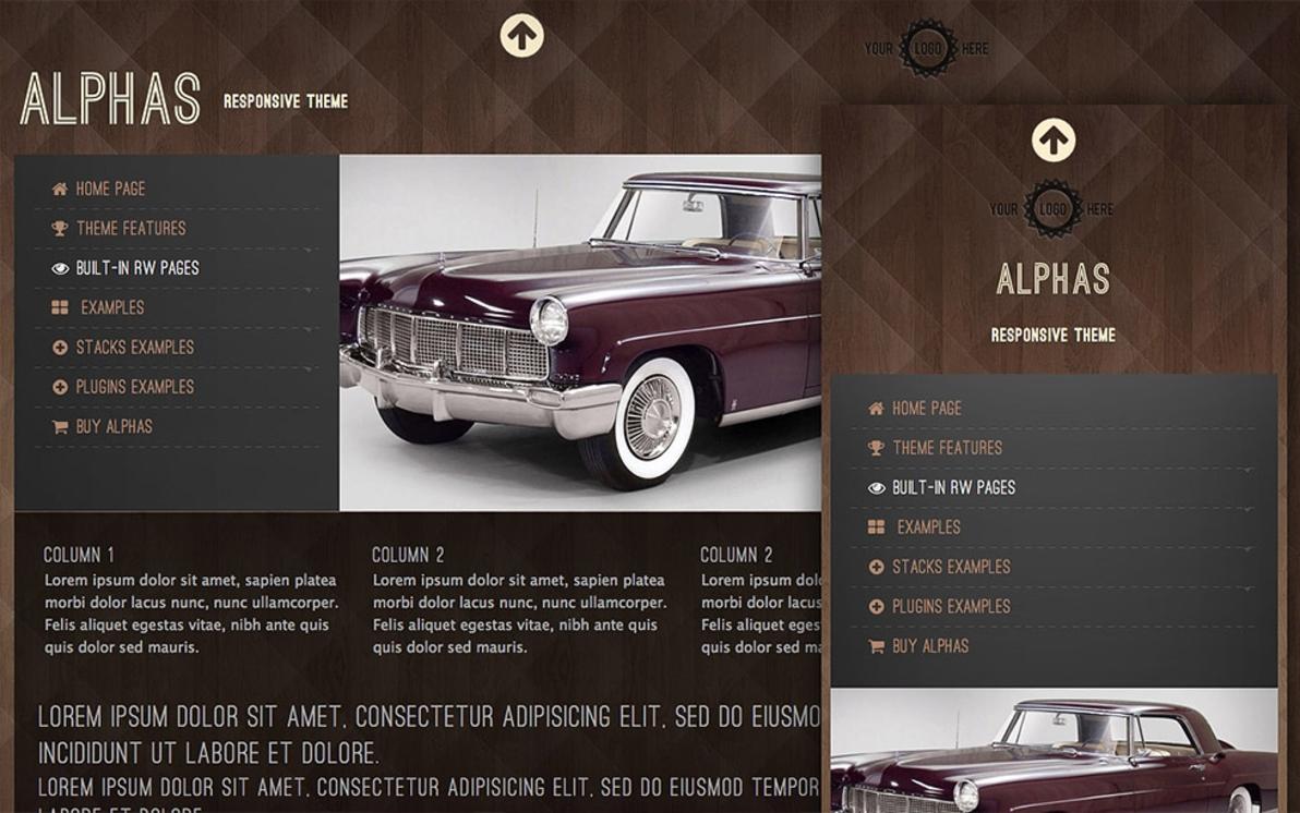Alphas screenshot