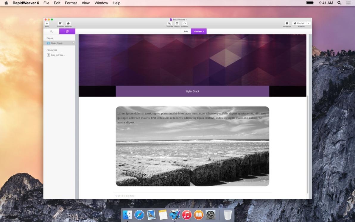 Styler Box screenshot