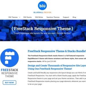 FreeStack Responsive icon