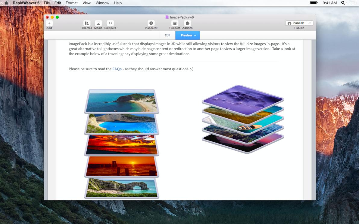 ImagePack screenshot