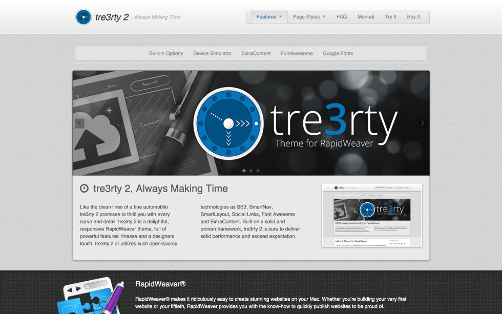 seyDesign tre3rty screenshot