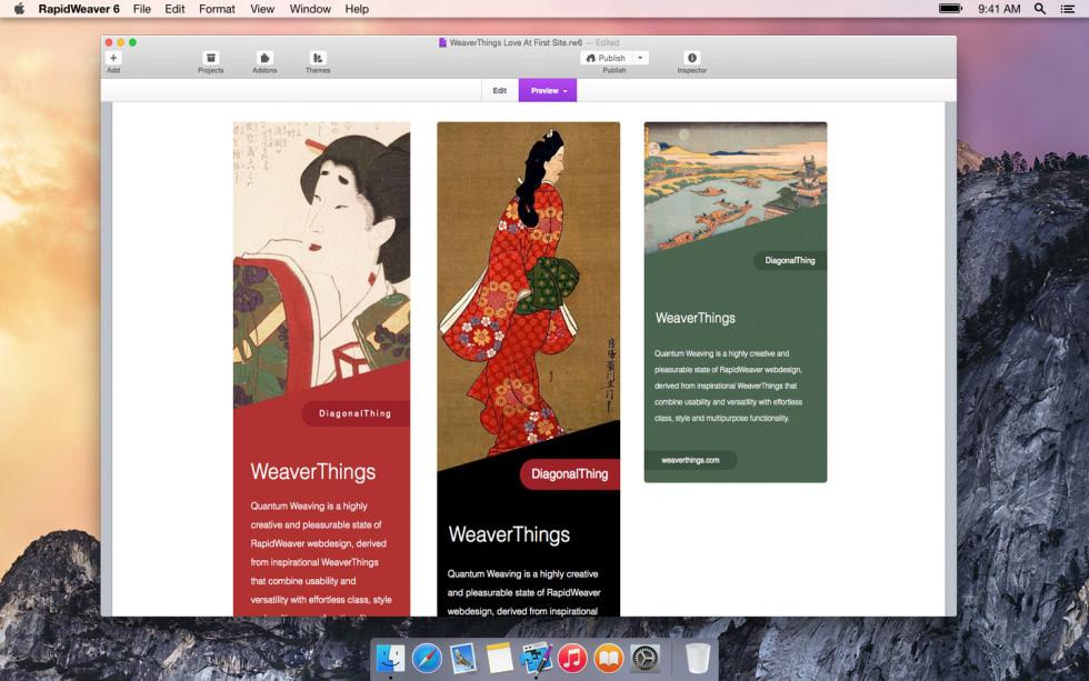 DiagonalThing screenshot