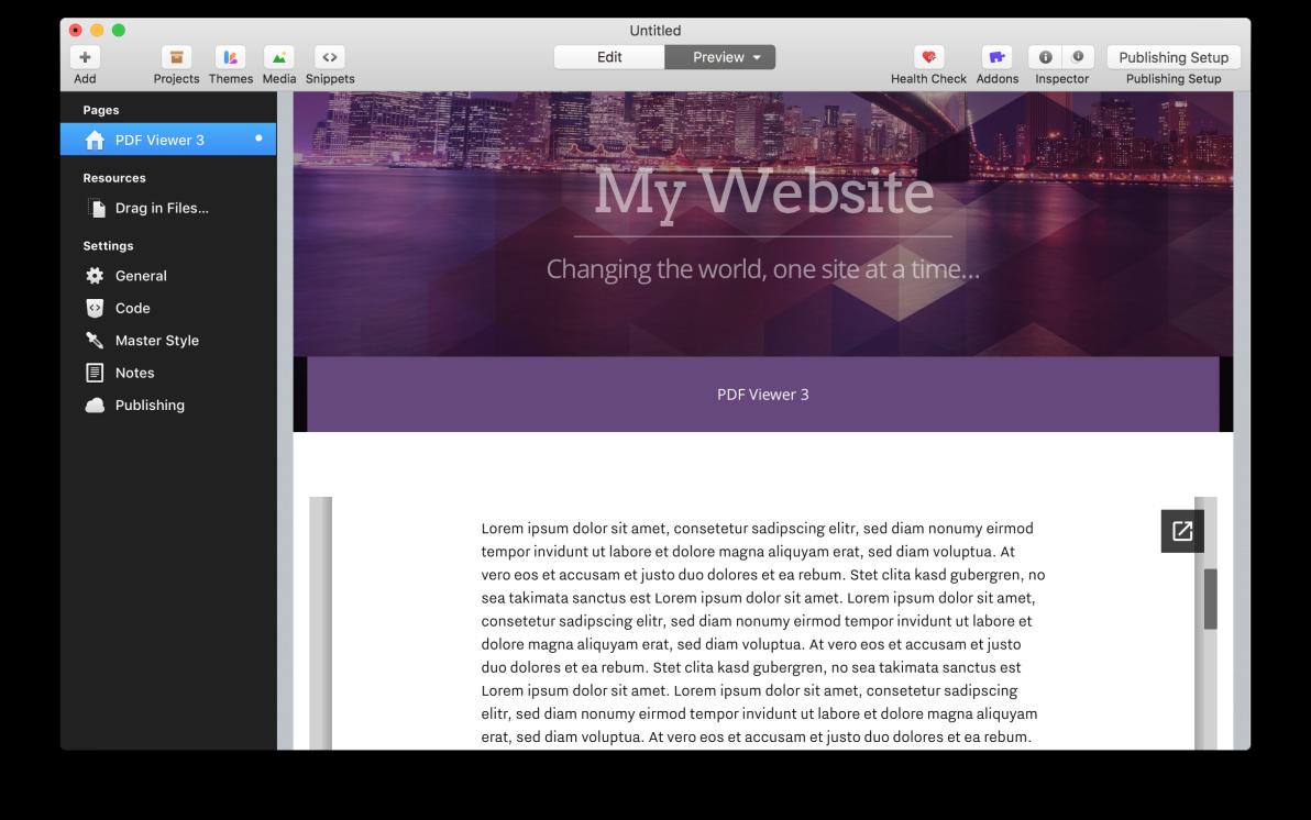 PDF Viewer 3 screenshot