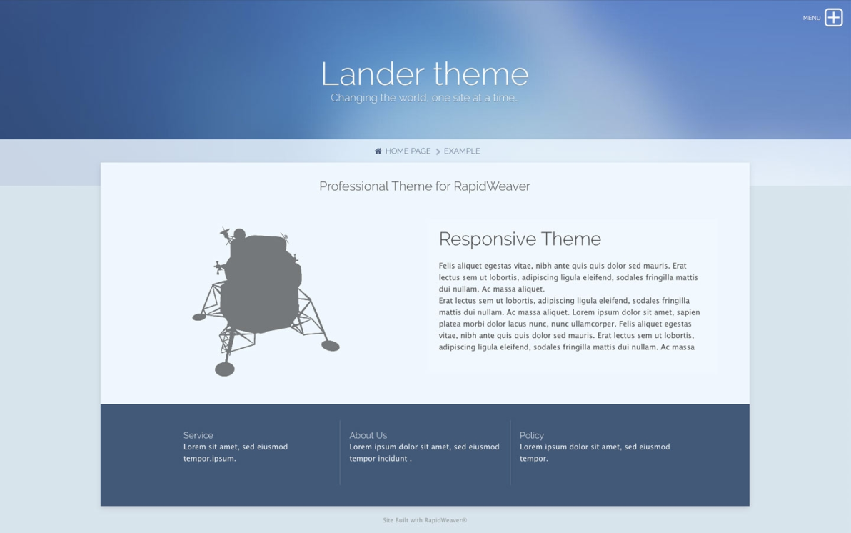 Lander Pro screenshot