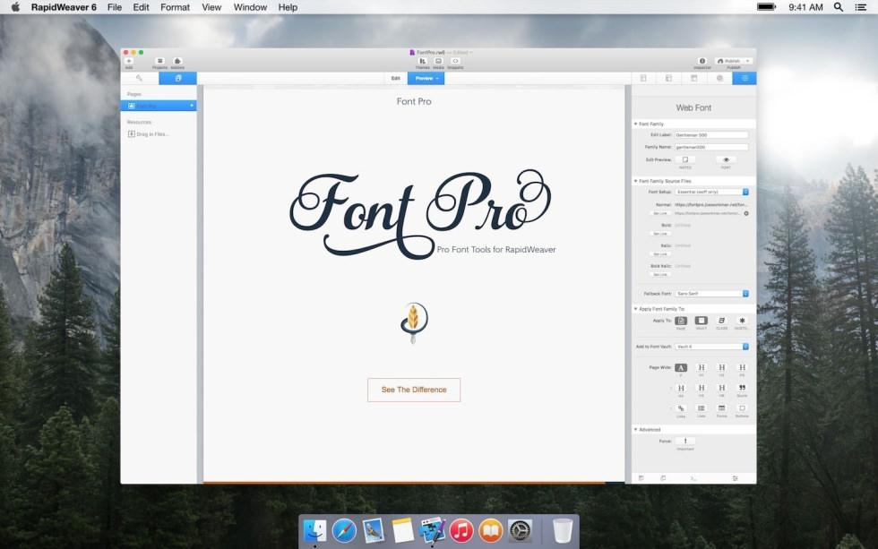 Font Pro screenshot