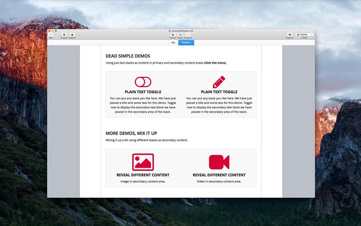 Toggle Stack screenshot