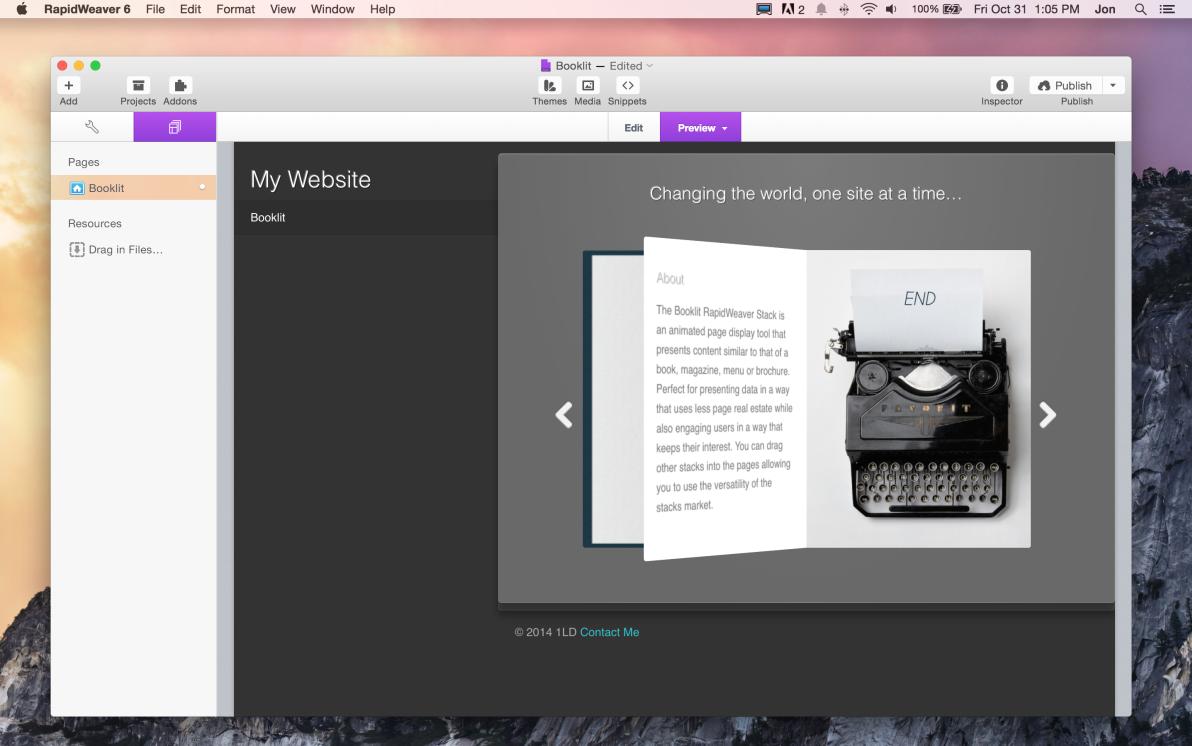 Booklit screenshot