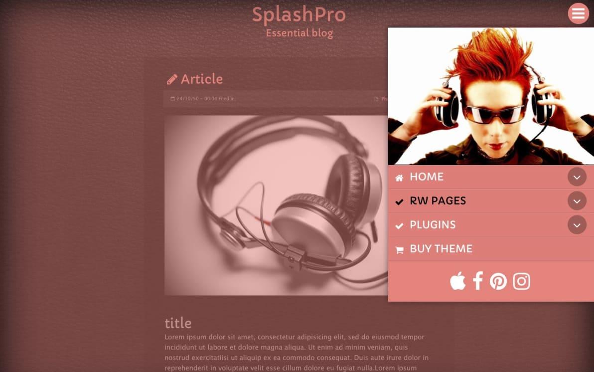 SplashPro screenshot