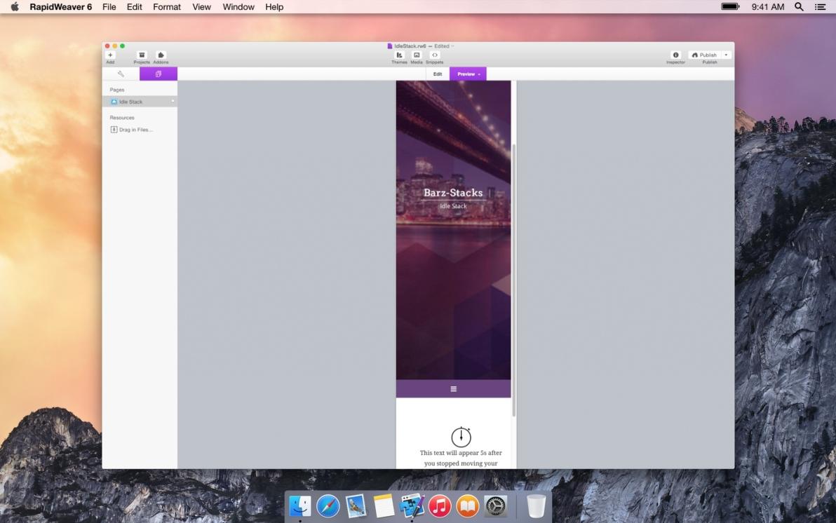 Idle Timer screenshot
