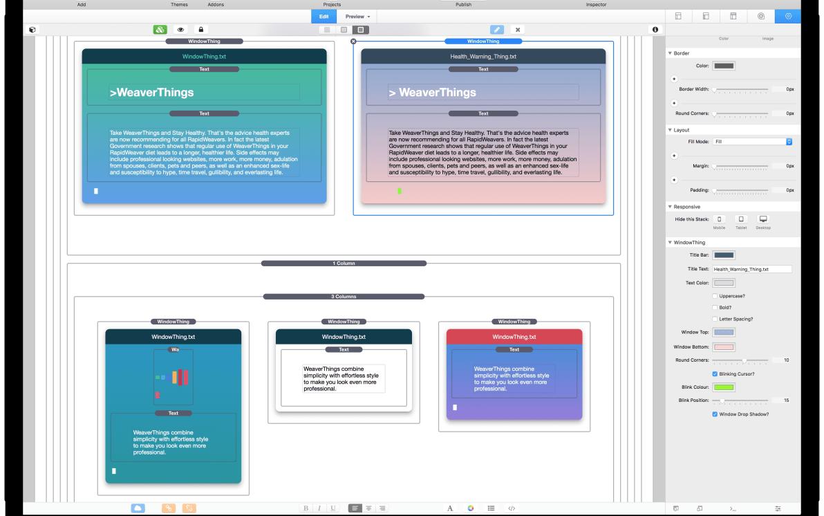 WindowThing screenshot