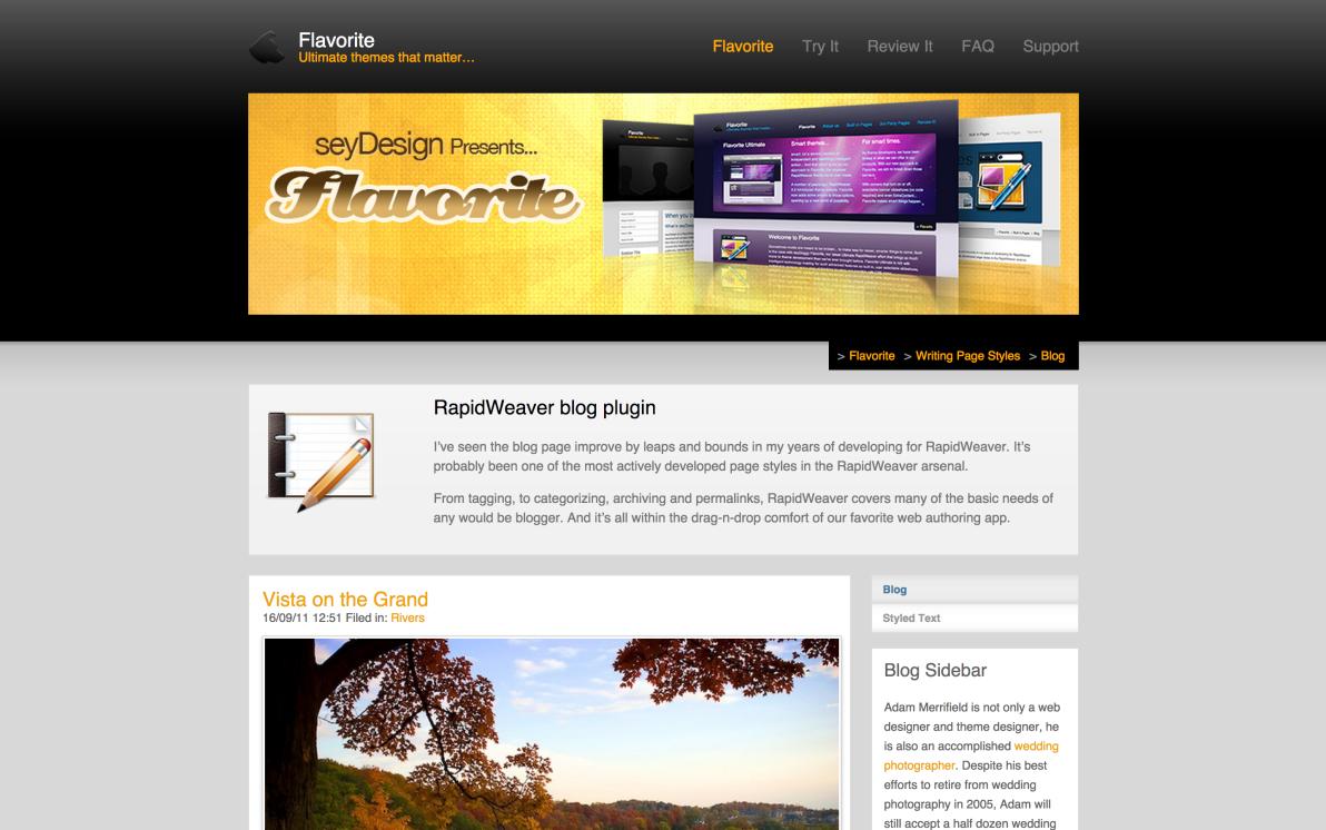 seyDesign Flavorite screenshot